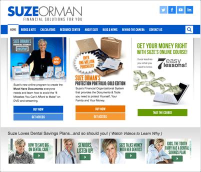 Suze Orman: Financial Expert Profile