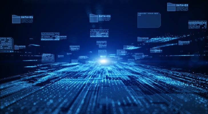 La imagen muestra una representación abstracta de la moneda digital. SmartAsset echa un vistazo a Ripple (XRP).