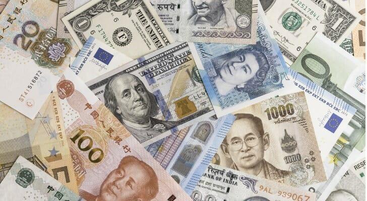 International bank notes