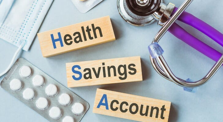 """Health Savings Account"" written on three blocks"