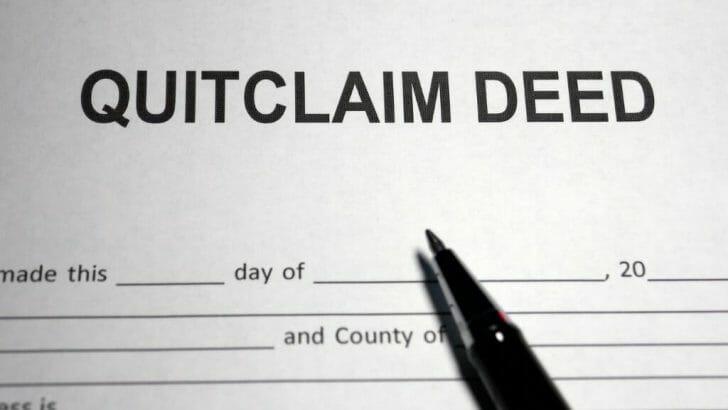 Quitclaim Deed
