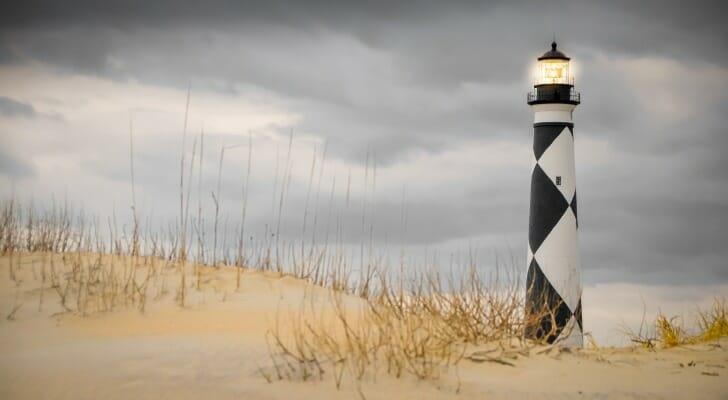 Cape Lookout in North Carolina