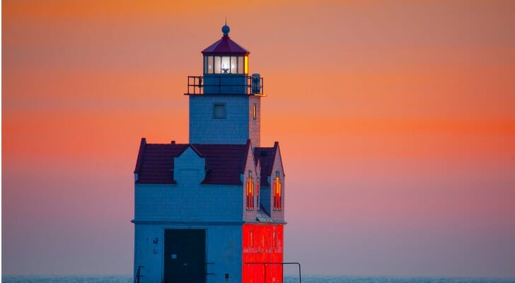 Lighthouse in Wisconsin