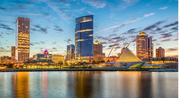 Skyline of Milwaukee, Wisconsin