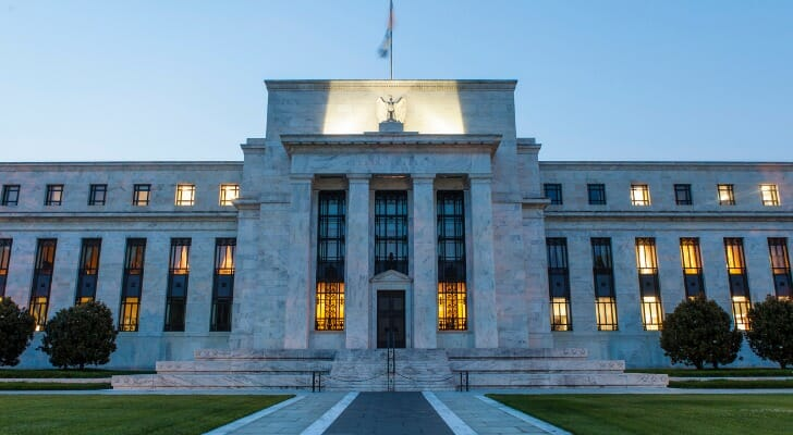The Federal Reserve headquarters