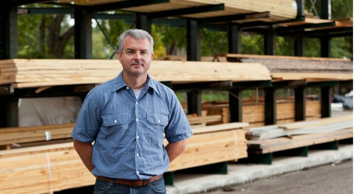 Owner of a lumber yard