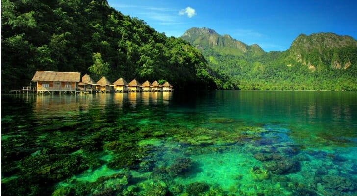 Resort in Ambon, Indonesia
