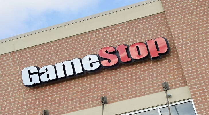 GameStop (GME) stock can be purchased through a broker or a financial advisor.