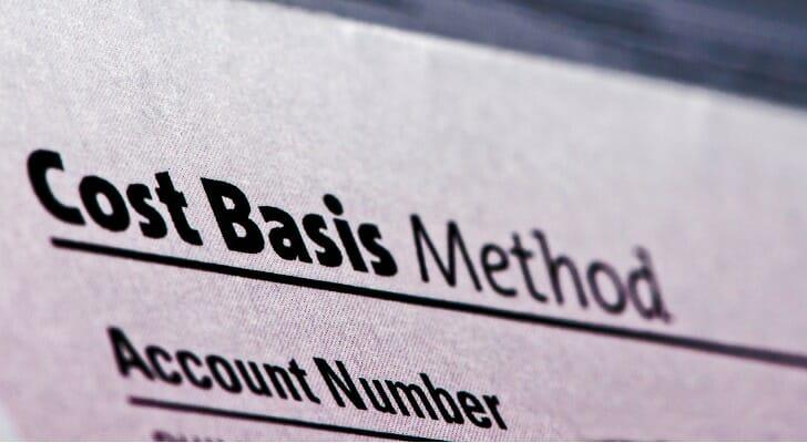 Cost basis report