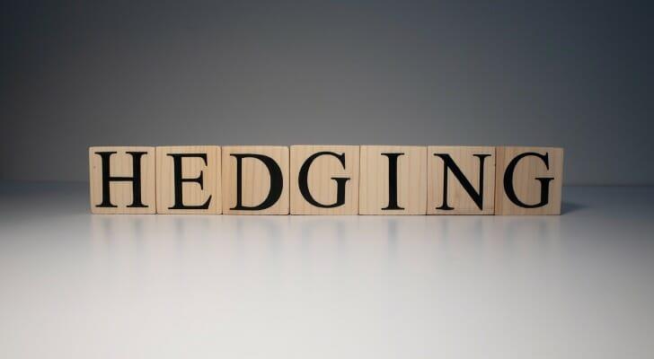 """""""HEDGING"""" written in block letters"""