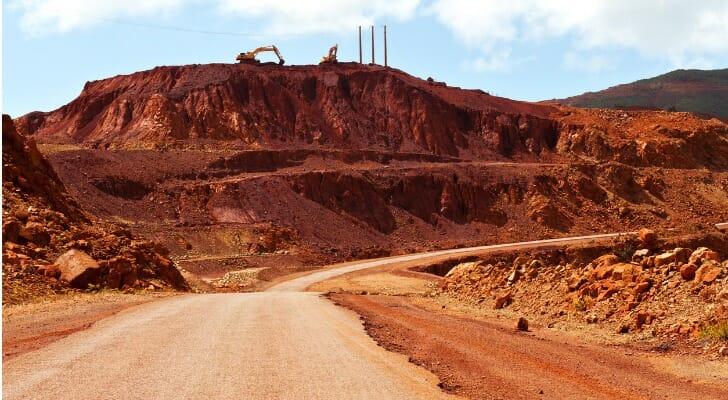 NIckel mining in New Caledonia