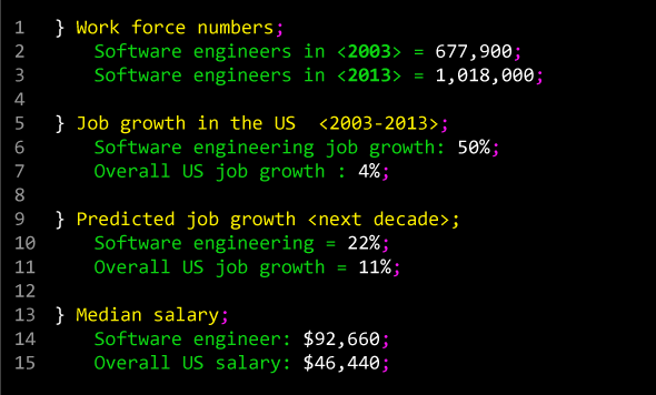 software engineer The Rise of the Software Engineer