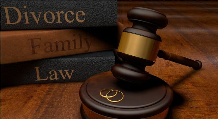 Liquidating assets during divorce who claims