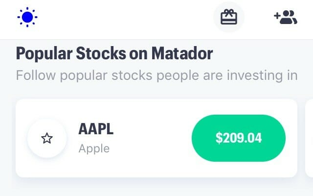 You can find stock ideas and explore stock themes on the Matador app.