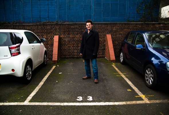 Anthony parking spot Renting Your Way Rich: How to Live in the Basement and Make Money