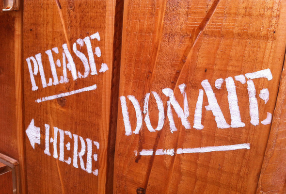 Please Donate here Top 4 Tips for (Deductible) Year End Charitable Donations