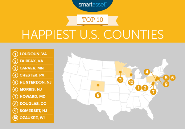 The Happiest Places in America