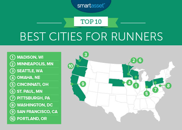 runners 2 map Pittsburgh Among Best Cities for Runners