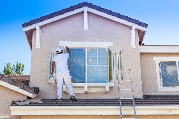 Attractive The Average Cost To Paint A House