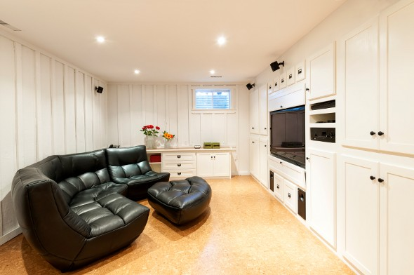 Average Cost Basement Remodel Minimalist The Average Cost To Finish A Basement  Smartasset