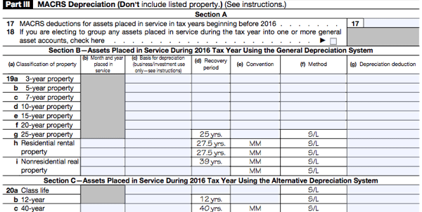 All About IRS Form 4562 SmartAsset – Irs Depreciation Worksheet