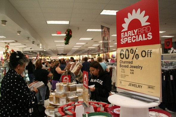 The New Thanksgiving Day Tradition: Shopping