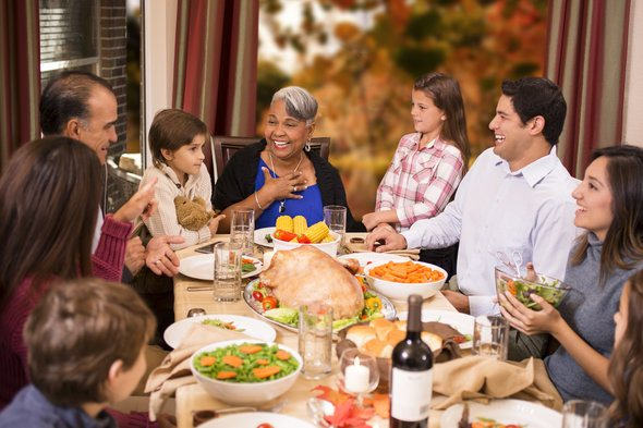 how to broach the money topic at thanksgiving