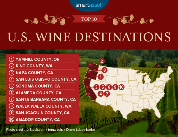 America's Best Wine Destinations of 2017