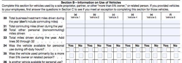 All About Irs Form 4562 Smartasset