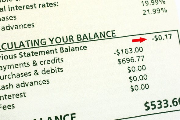 Credit Card Statement Balance vs. Current Balance