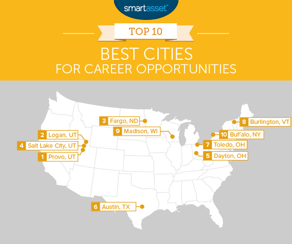 Top 10 Best Cities for Career Opportunities
