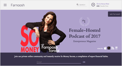Farnoosh Torabi: Financial Expert Profile