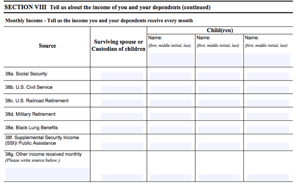 All About VA Form 21-534