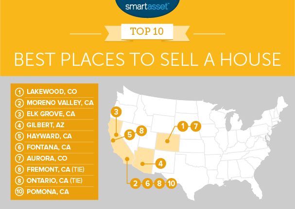 best places to sell a house