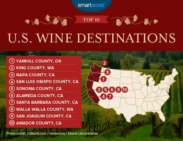 America's Best Wine Destinations of 2017