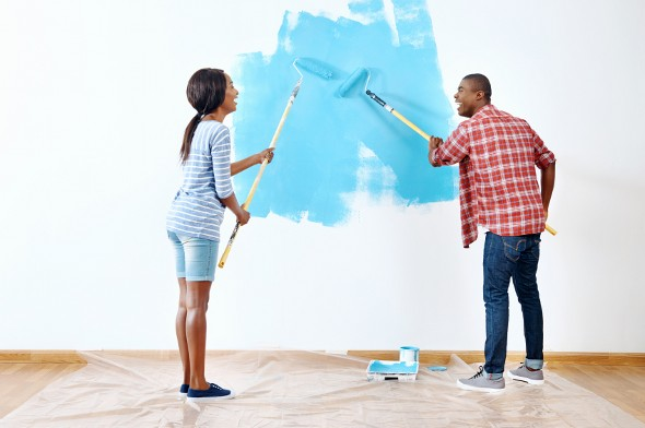 The Average Cost to Paint a House