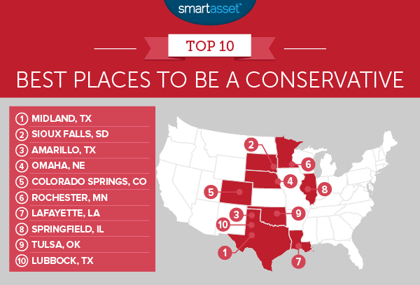 The Best Places to Be a Liberal and the Best Places to Be a Conservative