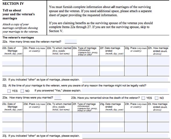 All About VA Form 21-534 - SmartAsset