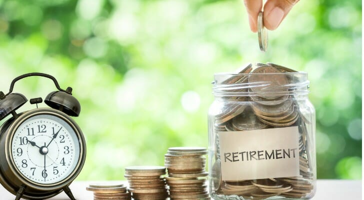 How do you grow a nest egg for retirement?