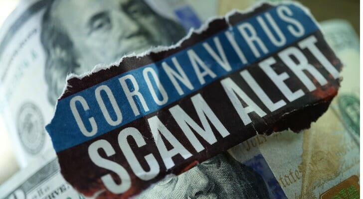 """Coronavirus Scam Alert"""
