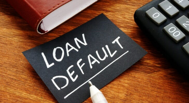 """Loan Default"" in writing"
