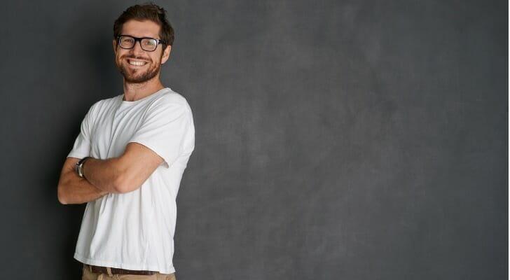 Man in a T-shirt
