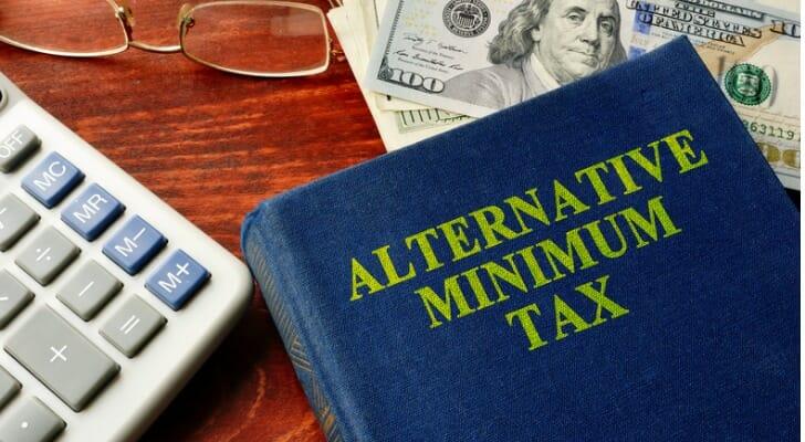 Textbook on the alternative minimum tax