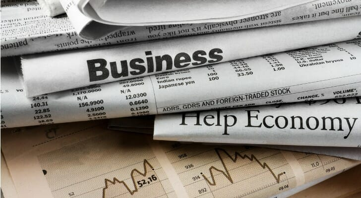 Financial newspapers