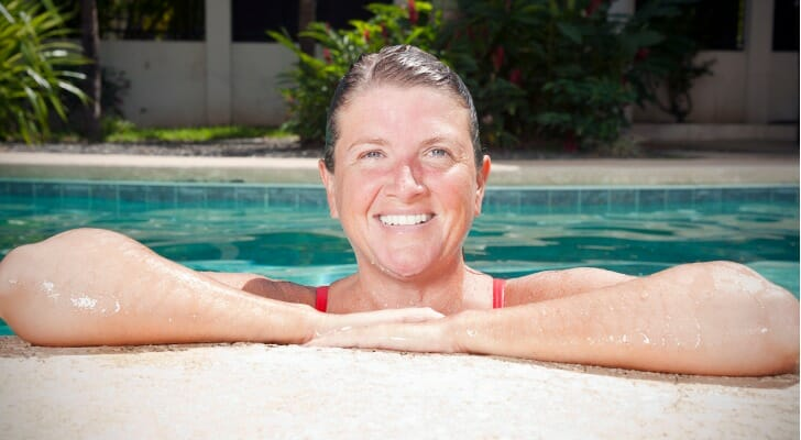 Woman who retired at 50