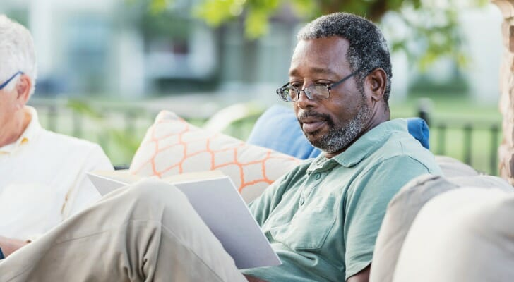 Man who retired at 50