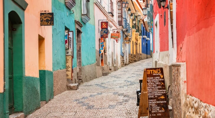 Old Town of La Paz, Bolivia