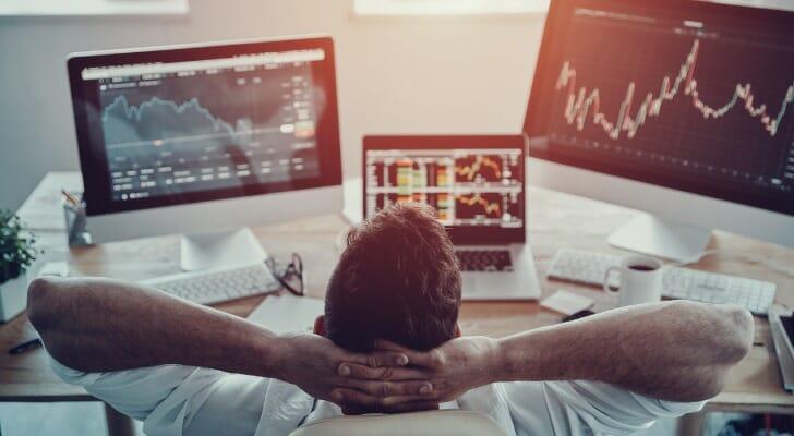 An investor ponders his gains