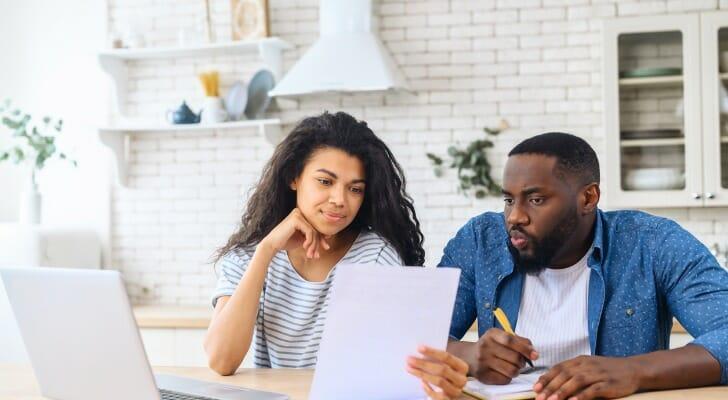 Couple checks their dividends