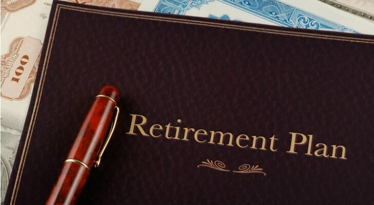 "Book entitled ""Retirement Plan"""